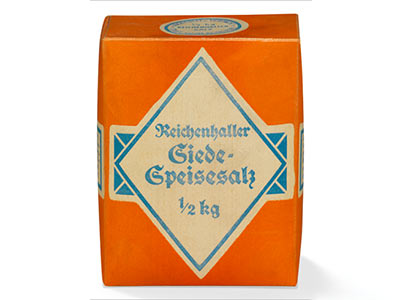 1950: The first 500 g package for the Bavarian household